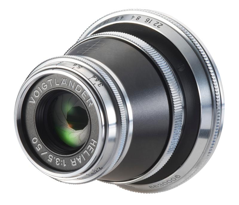 50 mm/1:3,5 Heliar asphärisch