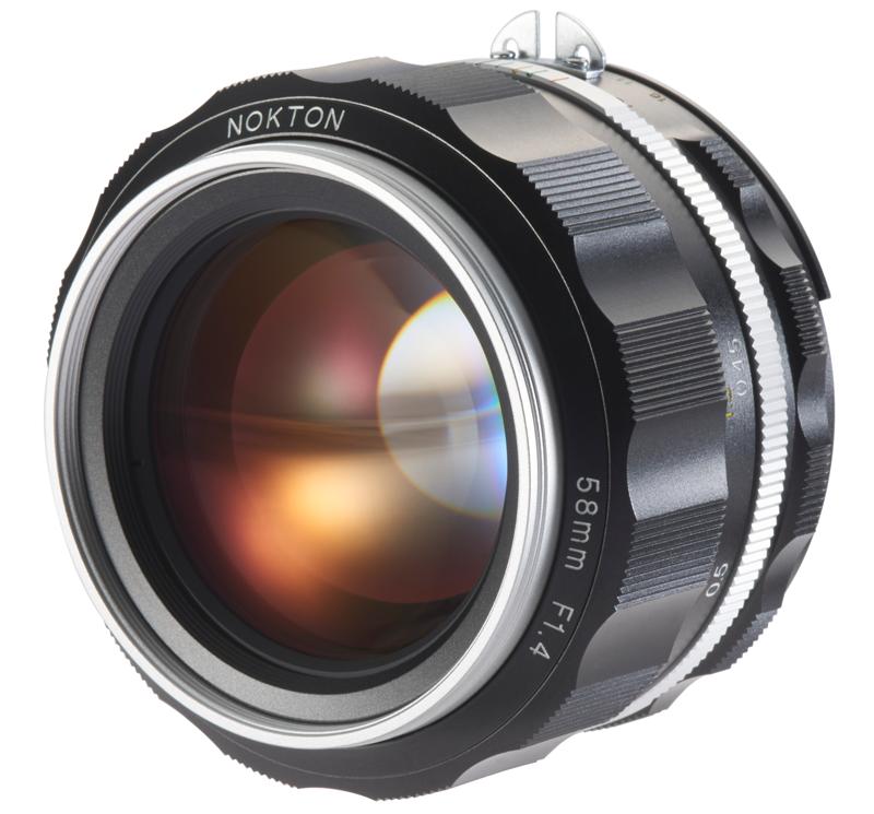 58 mm/1:1.4 Nokton SL II - S