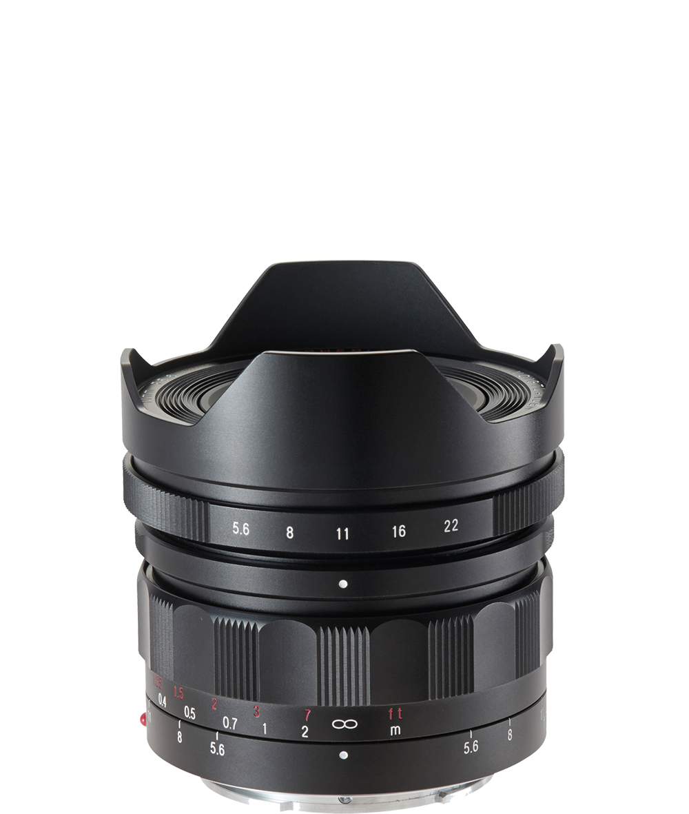 E-Mount 10 mm / F 5.6 Hyper Wide Heliar aspherical