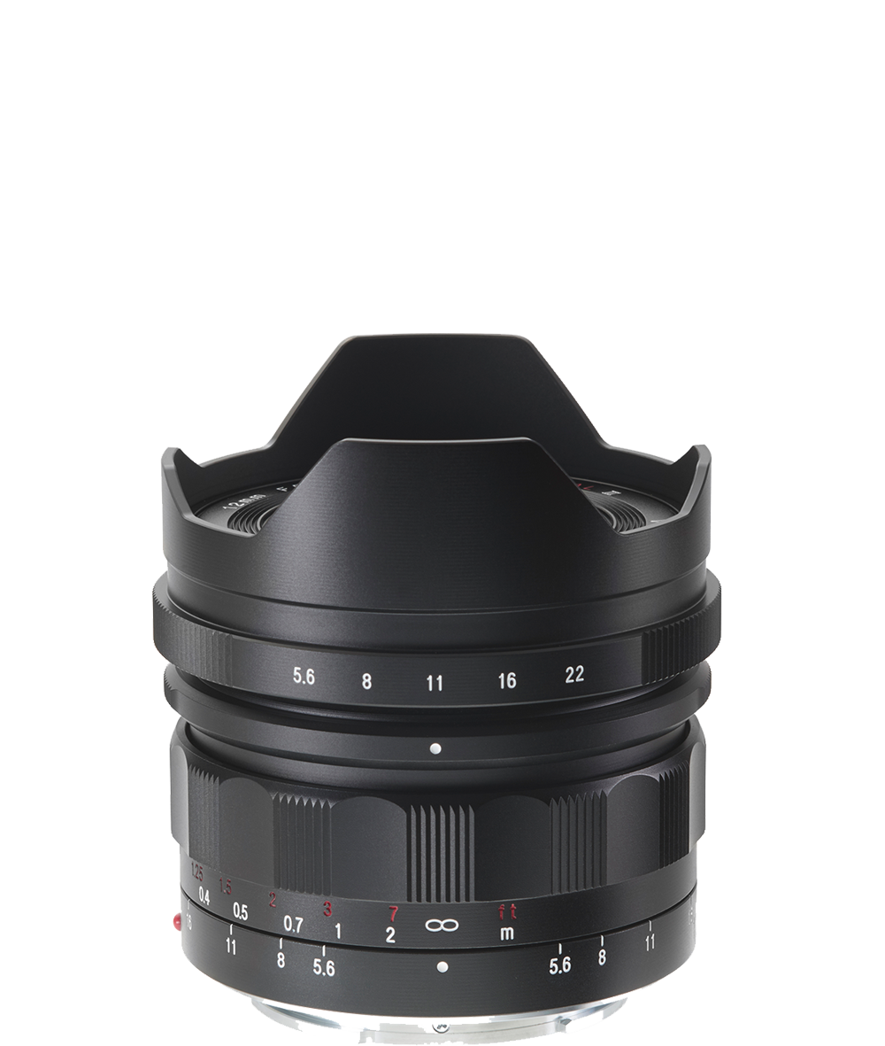 E-Mount 12 mm / F 5.6 Ultra Wide Heliar aspherical  III