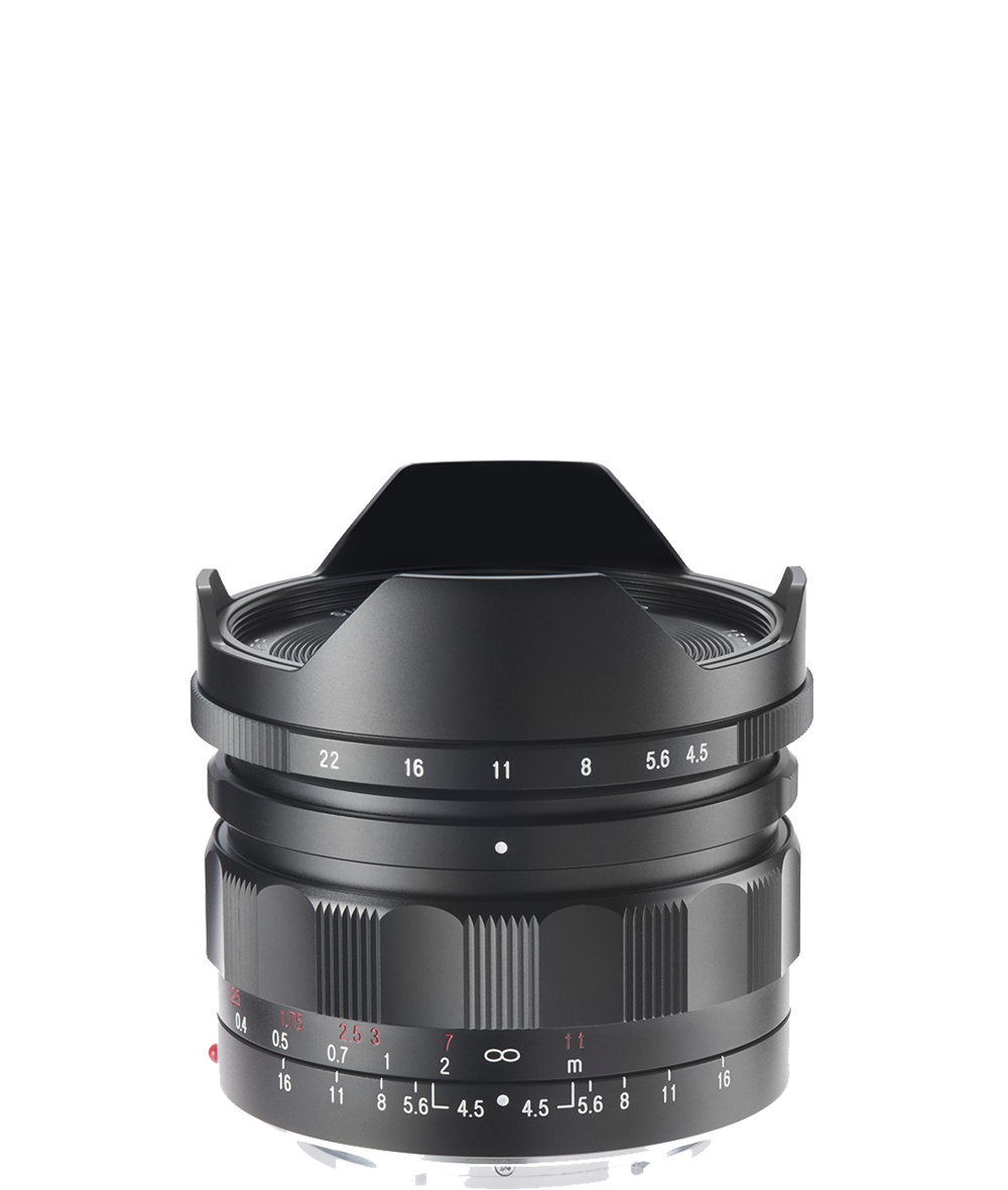 E-Mount 15 mm / F 4.5 Super Wide Heliar aspherical  III