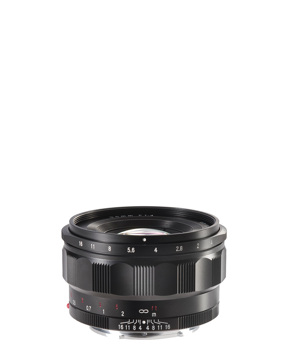 E-Anschluss 35 mm / F 1,4 Nokton classic