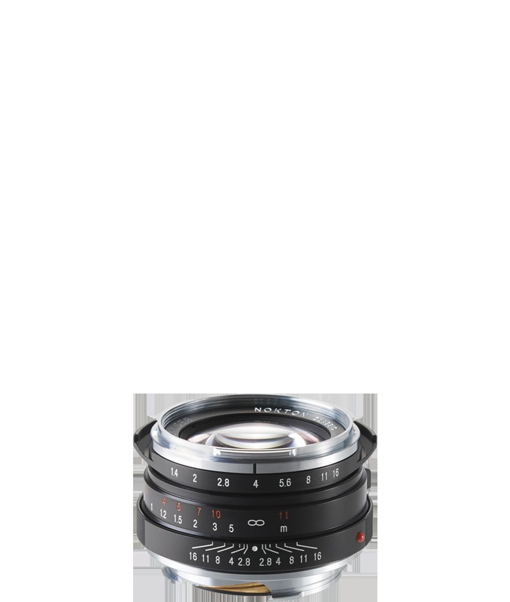 40 mm/1:1,4 Nokton SC und MC