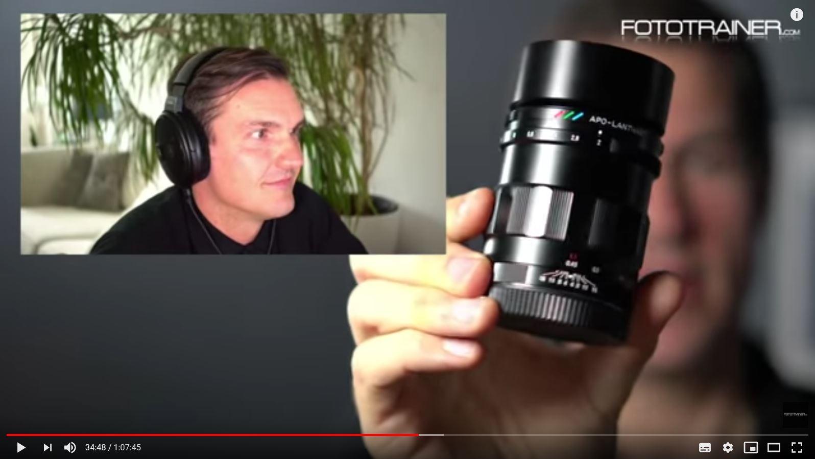50mm Festbrennweiten für die Sony A7 Serie – Objektiv-Talk mit Stefan Gericke & Christian Laxander
